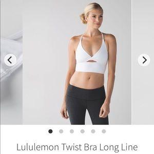 Lululemon twist bra long line